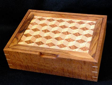 Handmade Jewelry Box Plans - marquetry jewelry box finewoodworking
