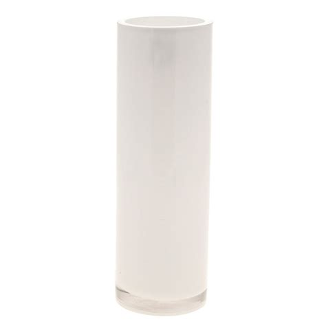 White Cylinder Vase by 30m White Cylinder Vase Easy Florist Supplies