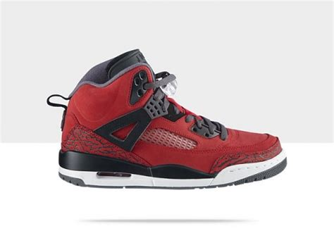 basketball shoes in lebanon air spizike red sneaker
