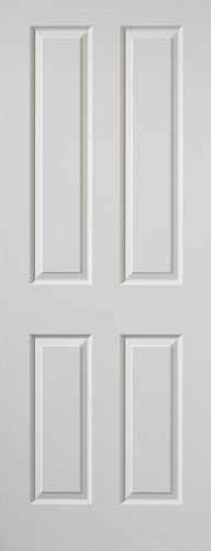 4 Panel Interior Doors White 4 Panel Textured White Primed Door