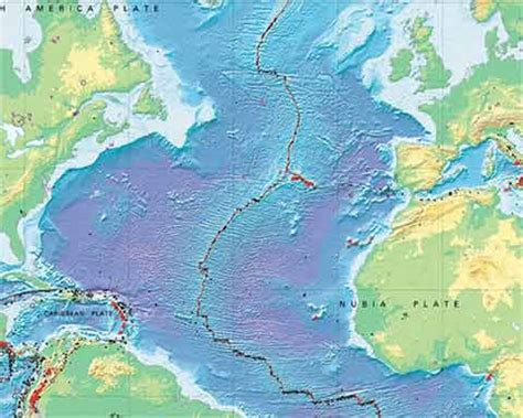 Middle Atlantic Shelf by Europe S Continental Boundaries Counter Currents Publishing
