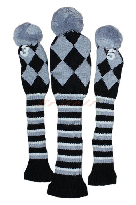 knit golf covers popular pom pom headcovers buy cheap pom pom headcovers