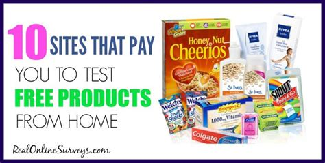 Make Money Online Testing Products - how to make money testing free products from home a well