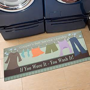 Floor Mats Laundry Room Personalized Laundry Room Oversized Mat Laundry Time
