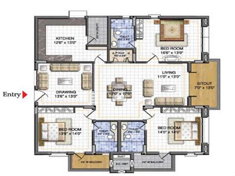 3d floor plans free sweet home 3d plans search house designs layout house plans