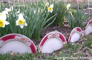 Tire Flower Planters by Recycled Garden Borders Reclaimed Garden