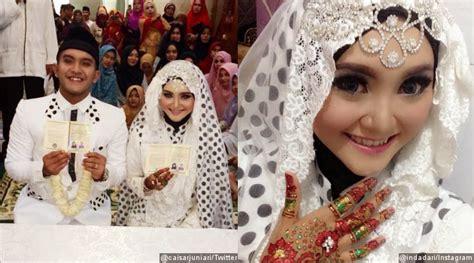 Tempat Tidur Caisar kumpulan foto pernikahan caisar yks indadari 2014