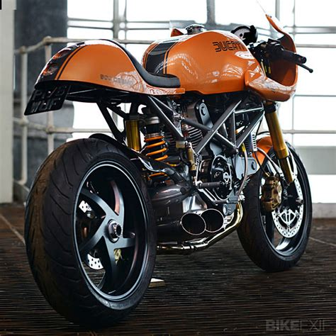 Trellis Cafe Red Max Speed Shop Ducati Monster Bike Exif