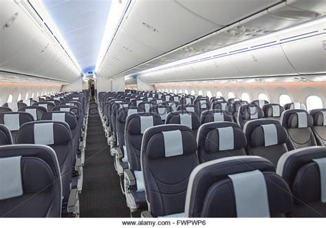 boeing 787 dreamliner interior stock photos boeing 787