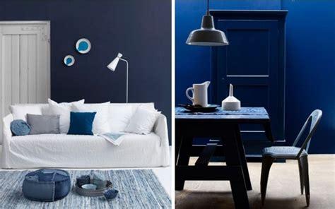 deco salon bleu nuit