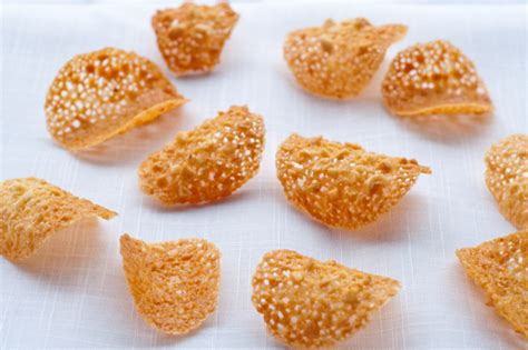 French Fridays with Dorie: Almond Orange Tuiles   eat