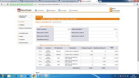 consultar saldo cuenta rut banco estado ver saldo cuenta rut banco estado chile cuenta rut saldo