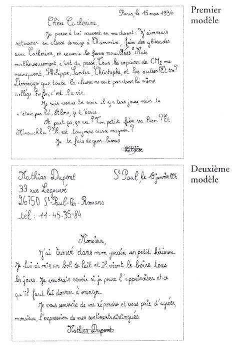 Un Exemple De Lettre Amicale Exemple D Une Lettre Amicale