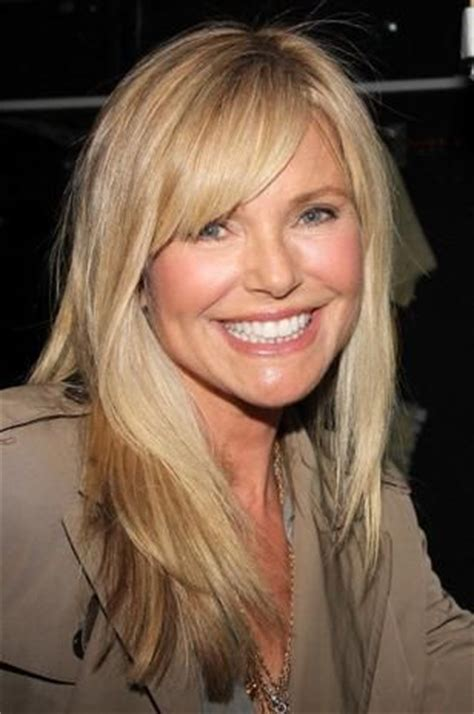 bangs and age christie brinkley bangs and models on pinterest