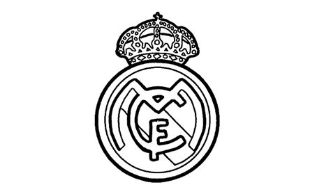how to draw the real madrid logo using ballpoint pens how to draw the real madrid logo cf youtube