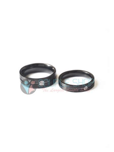 Cincin Pasangan Kawin Gold Hs09 Bahan Titanium Anti Pudar Free Ukir shop cincin kalung aksesoris