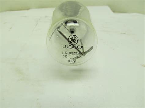 Lu Tembak 250 Watt general electric 67489 lu250 eco nc 250w lucalox high