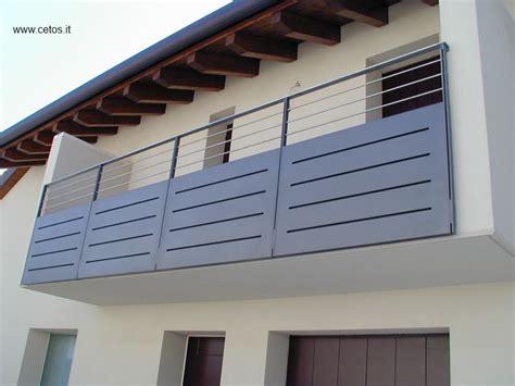 ringhiere per terrazze parapetto per terrazze in ferro e acciaio inox home