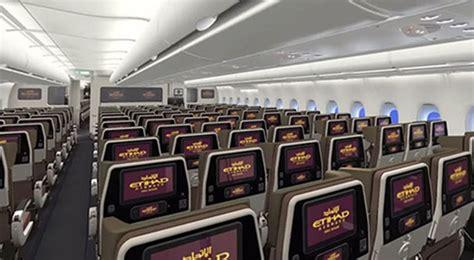 Airways Interior by Etihad Airways Economy Class Review Seats Food