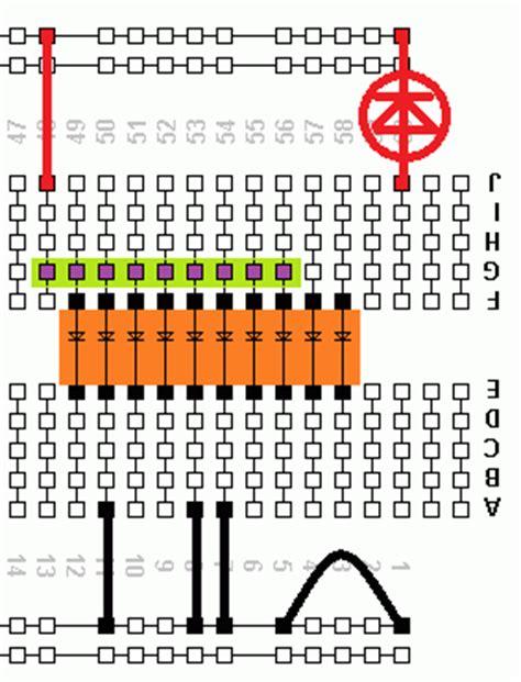 resistor array dil led bar