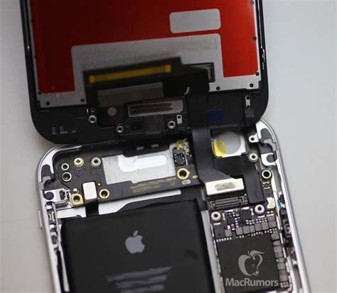 iphone  display  logic board shown booting  gear