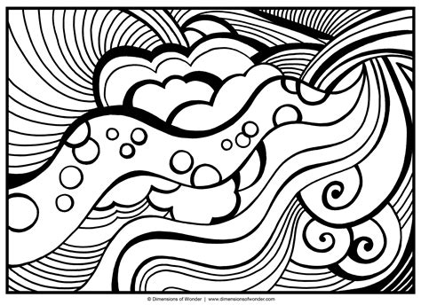 Large Coloring Pages To Print by Abstract Coloring Pages Free Large Images Recipes
