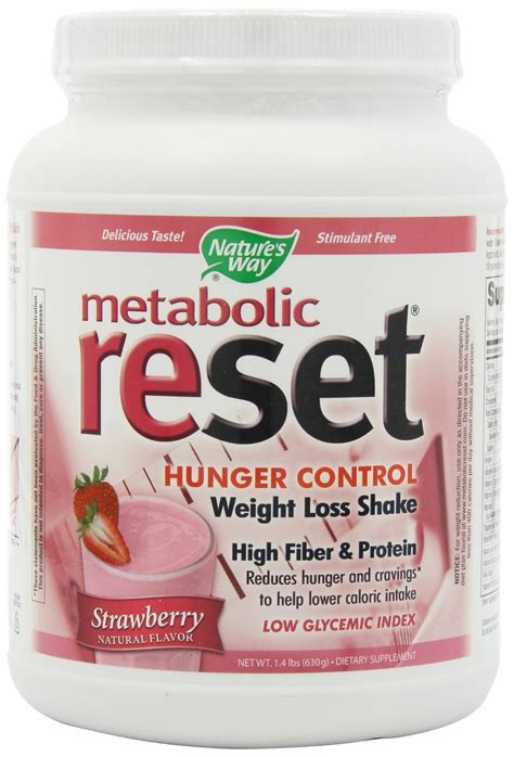 Natures Way Slim Right Strawberry 375 Gr Diet Meal Replacement 1 2 3 nature s way metabolic reset strawberry eshop best sellers