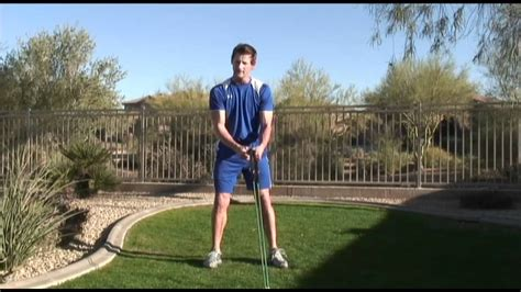 core golf swing over 50 golfers fitness training using resistance tubing