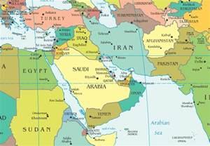 middle east map israel news algemeiner