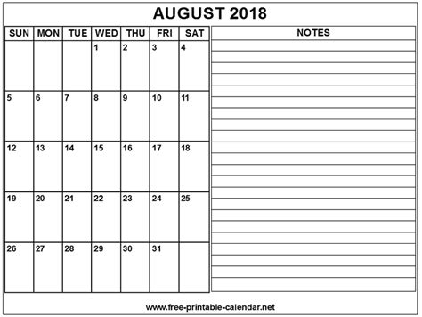 free printable calendar net printable calendar 2018 august download print