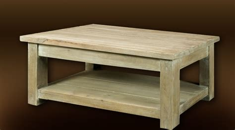 Table De Salon Rustique by Table Basse Rustique Bois Massif Finition Chaul 233 E