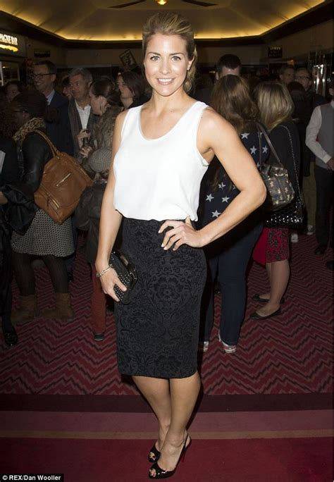 amy dunn actress mel c steps out in a little black dress at new cast party