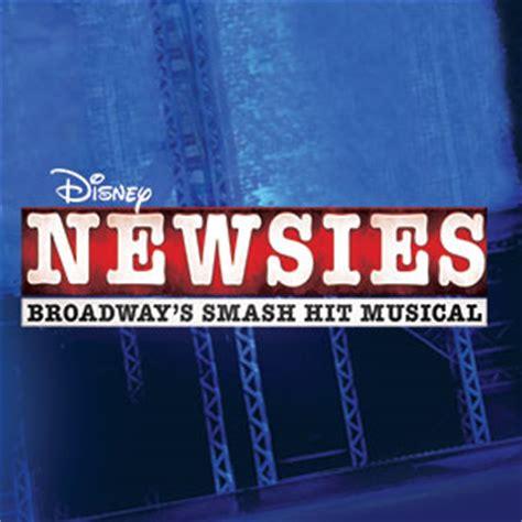 newsies blumenthal performing arts