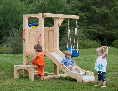swing set for baby 25 best ideas about toddler swing set on pinterest baby