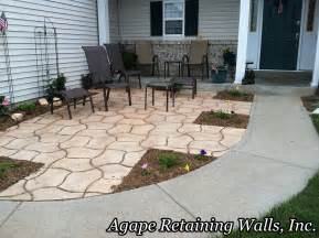 Front Yard Patio Design Agape Paver Pictures 6