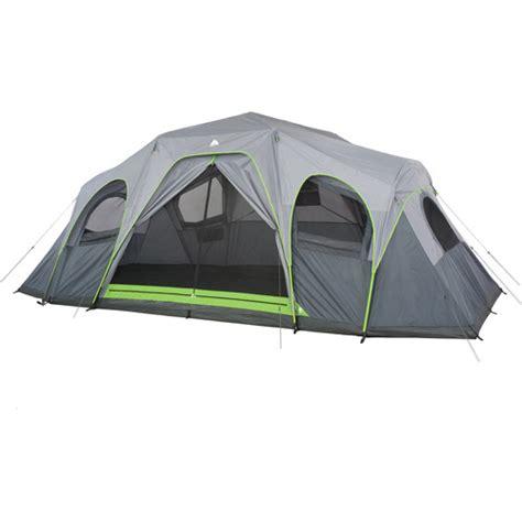 ozark trail 12 person 3 room tent ozark trail 12 person 3 room xl hybrid instant cabin tent walmart