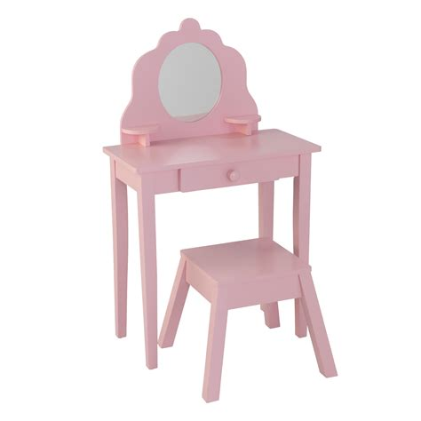 kidkraft and table and chair set kidkraft princess vanity table and chair set pink purple