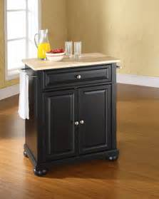 Black Kitchen Island by The Attractive Black Kitchen Island Completed By Back
