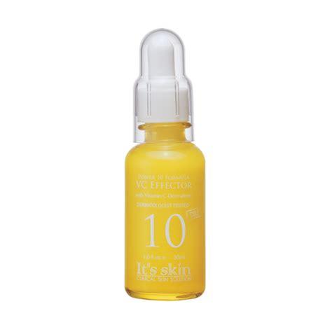 Its Skin Power 10 Formula Line Vc Effector Brightening Serum Essence it s skin power 10 formula vc effector 能量10精華原液vc 30ml 精華 serum 護膚品 skin care cosmo