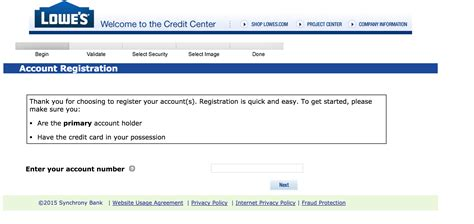 lowes credit card login make payment lowe s credit card login make payment