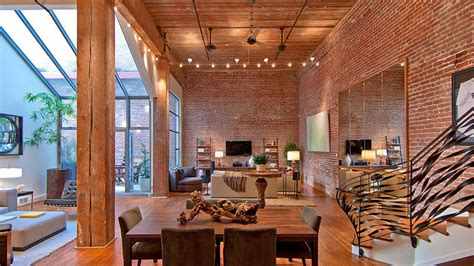 brick loft timeless open warehouse loft idesignarch interior