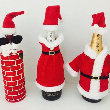 imagenes de navidad para decorar botellas 20 diy botellas decoradas de navidad paperblog