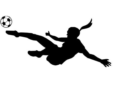 Soccer Girls Clipart - Clipart Suggest Girl Soccer Silhouette Clip Art
