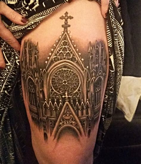 the tattoo gallery cathedral city my beautiful gothic cathedral done by the amazing ryan