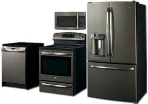 kitchen appliance finishes appliances slate finish ge it s not black not white