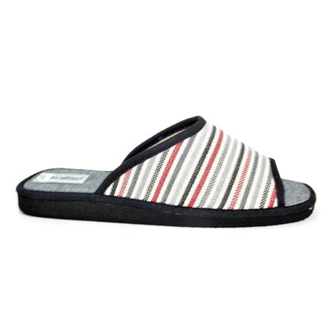 Striped Slippers striped summer slipper d espinosa