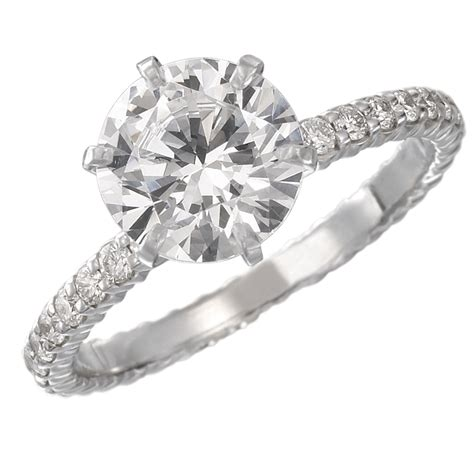 Wedding Solitaire Rings by S Jewelers Signature Engagement Ring Collection