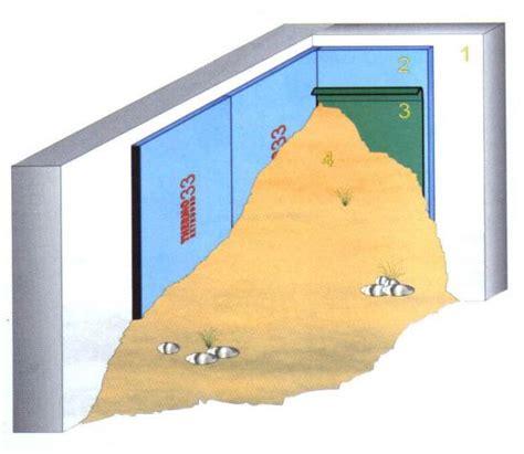 isolare muro interno mobili lavelli isolamento interno muri controterra