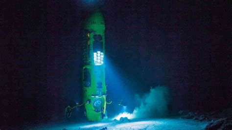 Sea Floor Exploration by Descending Into The Mariana Trench Cameron S