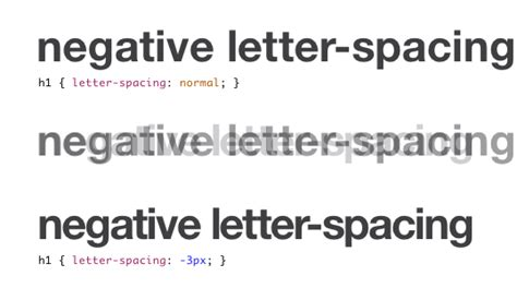 Css Raise Letter Tracking Css Letter Spacing And Where To Use It Sitepoint